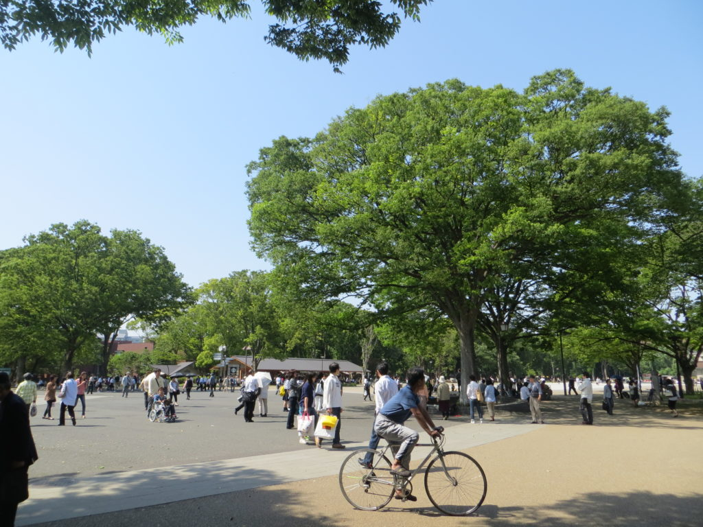 Tokyo, parco di Ueno