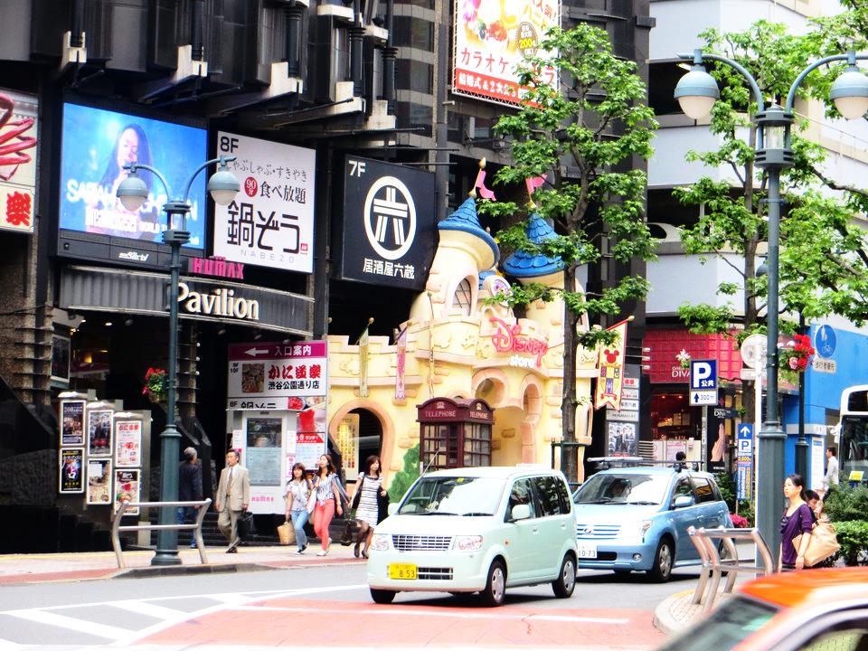 Shibuya, Disney Store, foto di Giulia Magagnini
