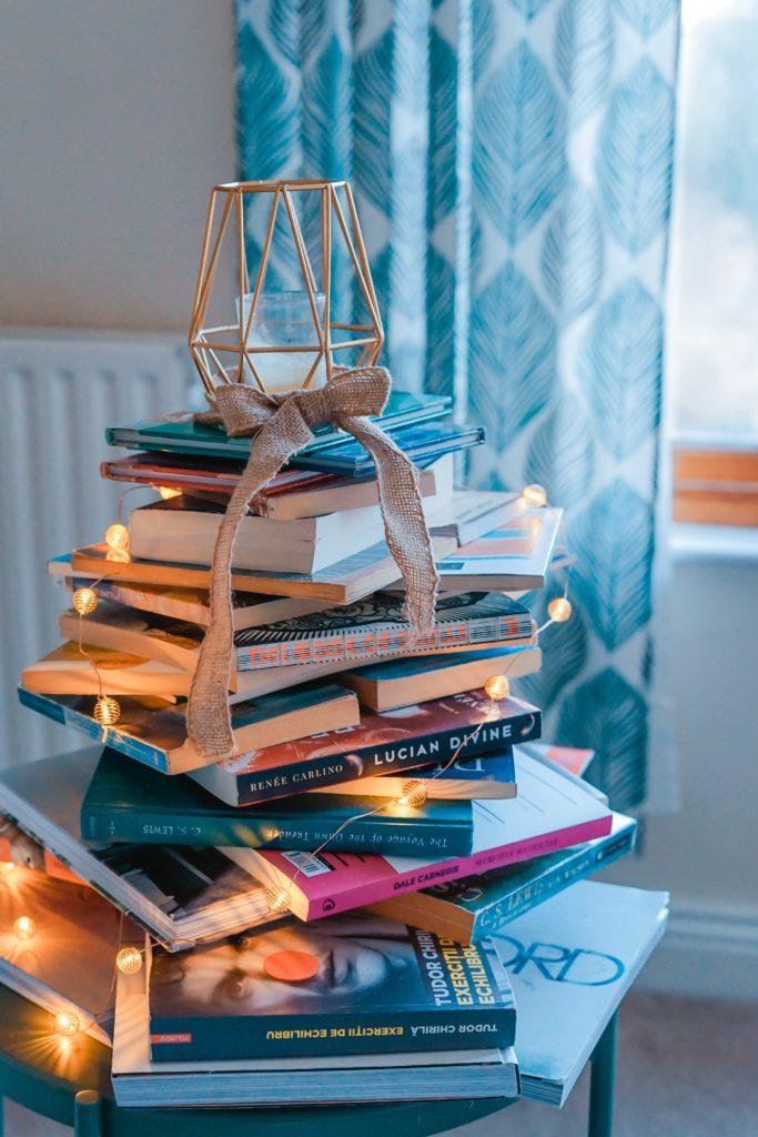 Piccola pila i libri - Photo by Toa Heftiba on Unsplash