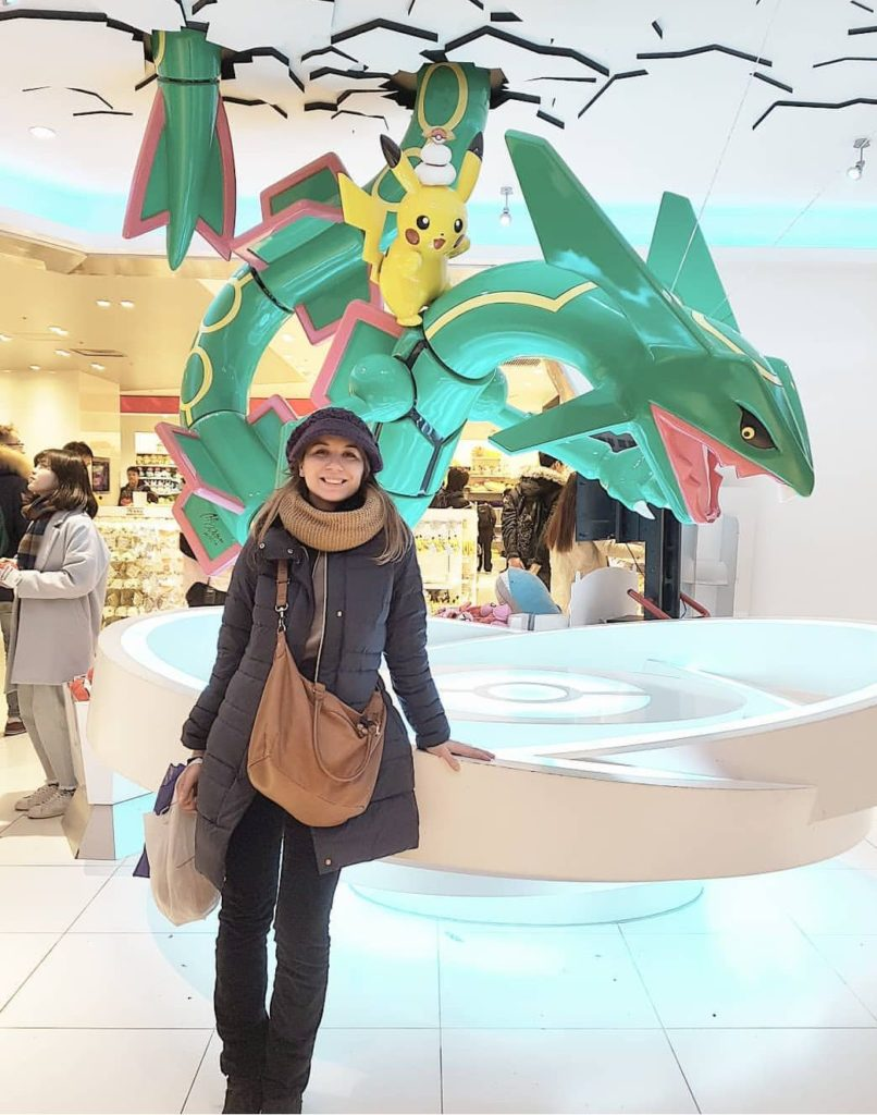 Tokyo, Pokémon Store, dicembre 2017