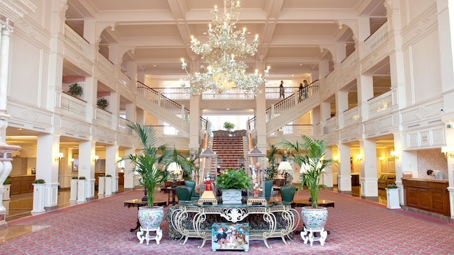interno Disneyland hotel - hotel disneyland paris per adulti