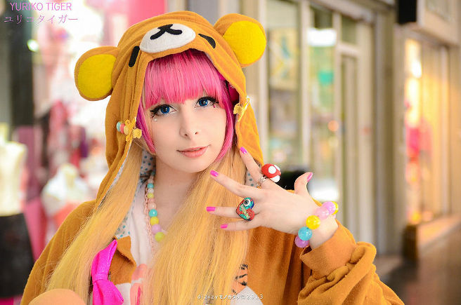 yuriko tiger a Lucca Comics 2015