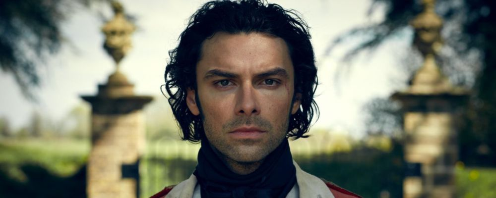 Poldark Ross in uniforme